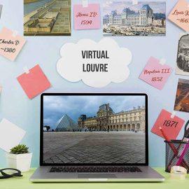 Animation team building Louvre en ligne