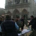 Rallye historique dans Paris